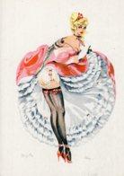 4447 Cpsm Illustrateur ALICE -  French Can - Can - Brigitte - Künstlerkarten