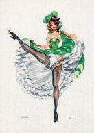 4448 Cpsm Illustrateur ALICE -  French Can - Can - Ginette - Künstlerkarten