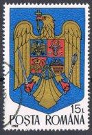 1992 - ROMANIA - STEMMA / COAT OF ARMS. USATO - 1948-.... Repúblicas