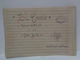 Antigua Partitura Manuscrita. El Caserio. Del Maestro Jesús Guridi Bidaola. - Partituras