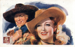 MGM FILM SONG OF GOLDEN WEST  1938 - Posters On Cards