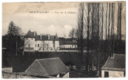 CPA 71 - DRACY LE FORT (Saône Et Loire) - Vue Sur Le Château - Autres Communes