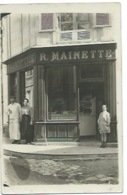 CHARCUTERIE - R. MAINETTE - NON SITUEE - CARTE-PHOTO - Geschäfte