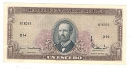 Chile, 1 Escudo. XF/AUNC. - Chili