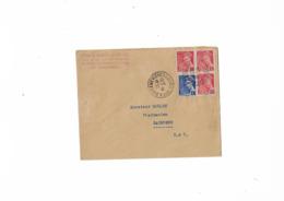 Enveloppe Sainte Genevieve Sous Bois Pour Paris...Syndicat Des Pharmaciens...Année 1941. - Marcophilie (Lettres)