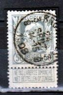 Nr 78 Gestempeld Bruxelles 3.9 Coba 8 - 1905 Grosse Barbe