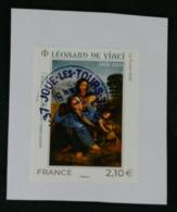 France 2019 - Léonard De Vinci Oblitéré - France