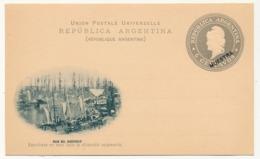 "ARGENTINE - Entier Postal / Carte Postale 6 Centavos ""MUESTRA"" - Boca Del Riachuelo - Ganzsachen"