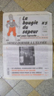 La Bougie Du Sapeur N° 5 Du 29 Février 1995 - Old Paper