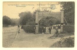 A0205[Postkaart] Les Trois Couleurs. - Avenue De Tervueren. / Café - Restaurant. (Bertels) [Woluwe Brussel Bruxelles] - Cafés, Hoteles, Restaurantes