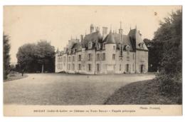 CPA 37 - BRIZAY (Indre Et Loire) - Château Du Haut Brizay. Façade Principale - Francia