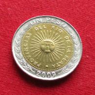 Argentina 1 Peso 2009  Argentine - Argentinië