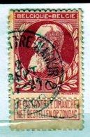 Nr 74 Gestempeld Brux.Luttre-Namur 2 Coba 12 - 1905 Grosse Barbe