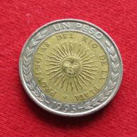 Argentina 1 Peso 1995 B KM# 112.3 Error : ProvinGias   Argentine - Argentinië