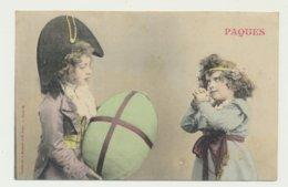 Pâques - Carte Couleur - Phototypie Bergeret - Bergeret
