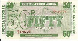 GRANDE BRETAGNE 50 PENCE UNC - Forze Armate Britanniche & Docuementi Speciali