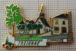 TREIGNAC CORREZE Dpt 19 PLUS BEAU VILLAGE DE FRANCE PBVF En Version ZAMAC LB CREATION - Ciudades