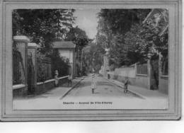 CPA - CHAVILLE (92) - Aspect De L'avenue De Ville-d'Avray En 1907 - Chaville