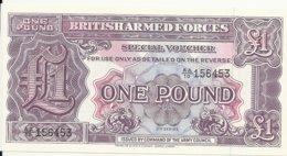 GRANDE BRETAGNE 1 POUND  UNC - Forze Armate Britanniche & Docuementi Speciali