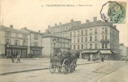 69 - VILLEFRANCHE SUR SAONE - PLACE CARNOT - Villefranche-sur-Saone