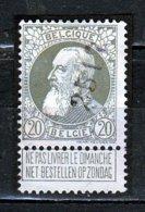 Nr 75 Gestempeld Nummer 2513 - 1905 Grosse Barbe