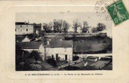 LE MAS  D'AGENAIS  La Porte Et Les Remparts Du Chateau - France