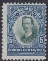 Cuba, Scott #242, Mint No Gum, Ignacio Agramonte, Issued 1910 - Ungebraucht