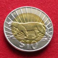 Uruguay 10 Pesos 2014 Puma  Uruguai - Uruguay