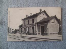 Cpa Loivre 51 Marne La Gare - France