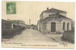 33-HASTIGNAN / ASTIGNAN-Café D'Astignan... 1915  Animé  (Mess Des Sous-Officiers) - Otros Municipios