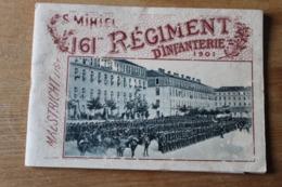 Album Photo Régimentaire  161 Eme Regiment D'infanterie  Saint Mihiel - Documentos