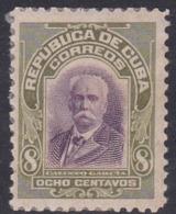 Cuba, Scott #243, Mint Hinged, Calixto Garcia, Issued 1910 - Kuba