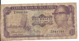 GAMBIE 1 DALASI ND1971-87 VG+ P 4 G - Gambia