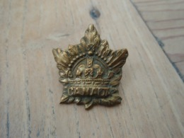 Collar  CANADA WW1 14-18 - 1914-18