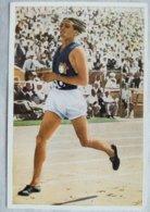 Foto Cromo Olimpiada De Los Ángeles. 1932. Nº 26. Atletismo 1500 Metros. Beccali, Italia. Hecho En 1936 Olimpiada Berlín - Tarjetas