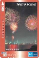 FEU D'ARTIFICE - FETE - SPECTACLE -- Carte Prépayée Japon - Télécartes