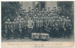 DANZIG - Trompeter Corps  Der Leib Garde Husaren - Poland
