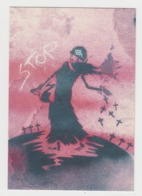AC057 - Graffiti - STREET ART - ART DE RUE - Art Populaire - Stop - Squelette - Cimetière - Malakoff - Rue Victor Hugo - Fine Arts