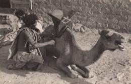 MAURITANIE: Maure Sellant Sa Monture - Mauritania