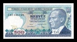 Turquia Turkey 500 Lira L.1970 (1983) Pick 195 Serie E SC UNC - Turquia