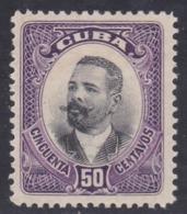 Cuba, Scott #245, Mint Hinged, Maj. Gen. Antonio Maceo, Issued 1910 - Kuba