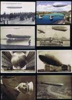 Deutsche Reich Zeppelin Postkarten In Dem 1906 -1911 - Luchtpost