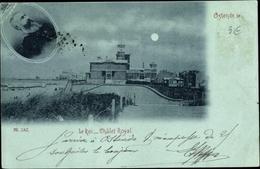 Clair De Lune Cp Ostende Westflandern, Le Roi Leopold II, Chalet Royal, Roi Von Belgien - Autres