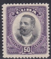 Cuba, Scott #245, Mint No Gum, Maj. Gen. Antonio Maceo, Issued 1910 - Kuba