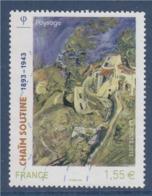 = Chaïm Soutine, Peintre Français, Paysage, N°4716  Oblitéré - Frankreich