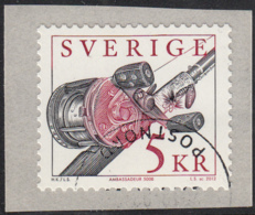 Sweden 2012 Used Sc 2680 5k Fishing Pole With Ambassadeur Reel - Used Stamps