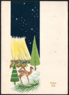 C9505 - Glückwunschkarte Weihnachten - Bambi - Verlag Herbert Schulze - Unclassified