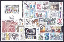 ** Slovaquie 1994 Mi 187-215, (MNH) L'année Complete - Slovakia