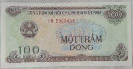 Billete Vietnam. 100 Dong. 1991. Sin Circular - Vietnam