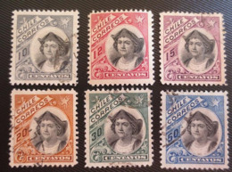 1905 Chile Colon 6v. - Chili